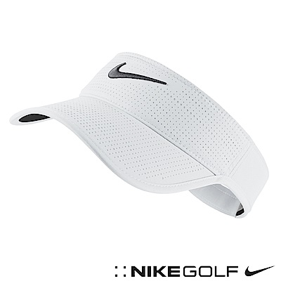 Nike Golf 素面可調式運動遮陽帽 白 639632-100