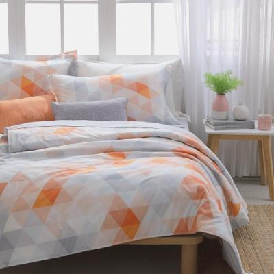IN-HOUSE-柑橙稜鏡-200織紗精梳棉涼被(150x195cm)