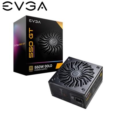 EVGA 艾維克 550 GT 550W 80plus 金牌 七年保固 全模組 全日系 電源供應器
