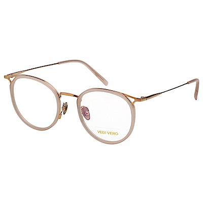 VEDI VERO 優雅小復古 β鈦 光學眼鏡 (裸色)