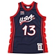 M&N Authentic球員版復古球衣 96 Team USA #13 Shaquille O'Neal product thumbnail 1