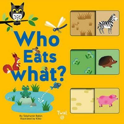 Who Eats What? 動物們吃什麼?配對遊戲書