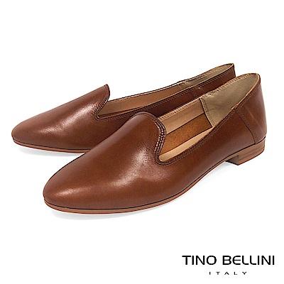 Tino Bellini 義大利進口經典臘感樂福鞋 _ 棕
