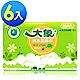 大象 純水柔濕巾(80片/包)*6包 product thumbnail 1