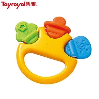 日本《樂雅 Toyroyal》經典奶嘴搖鈴