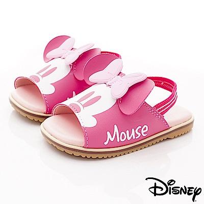 迪士尼童鞋 米妮軟軟拖鞋款 ON18369桃(小童段)