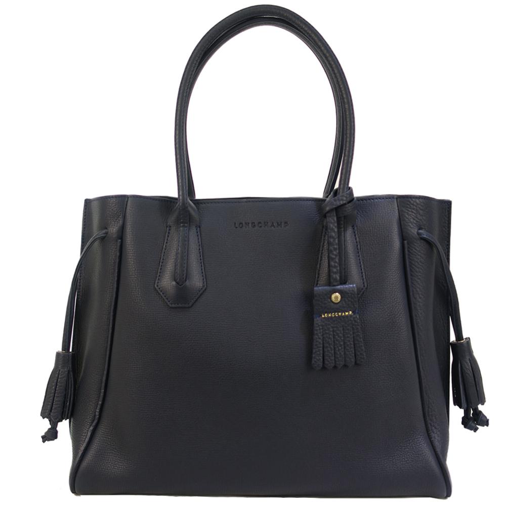Longchamp PENELOPE系列單肩包-黑 @ Y!購物