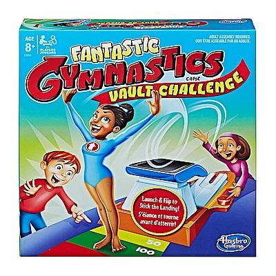 【孩之寶Hasbro】桌遊團康派對玩具 瘋狂體操選手馬鞍大挑戰  附中文說明書 E2263