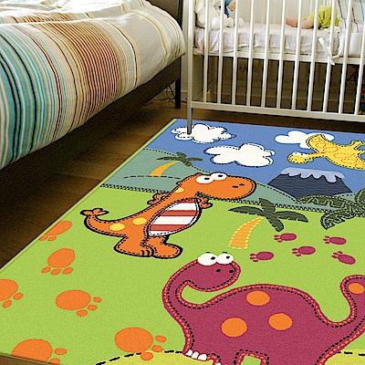 范登伯格 - 斑比 進口遊戲地毯 - 恐龍世界 (117 x 170cm)