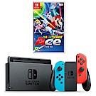 任天堂 Nintendo Switch 電光藍、電光紅Joy-Con 台灣公司機+瑪利歐網球