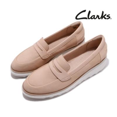 Clarks 休閒鞋 Sharon Ranch 厚底 真皮 女鞋