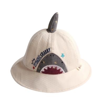 Baby童衣 鯊魚遮陽漁夫帽 嬰幼童防曬太陽帽 88285