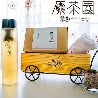 原茶園 台灣高山青心烏龍茶熟香型袋茶(25入x2盒)