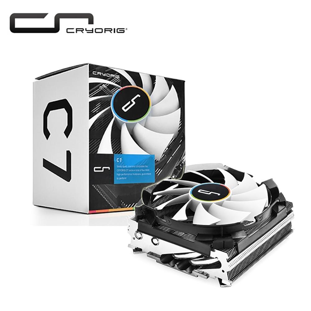 Cryorig 快睿 C7 CPU散熱風扇 下吹式散熱器