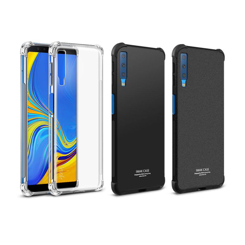 Imak SAMSUNG Galaxy A7(2018) 全包防摔套(氣囊)
