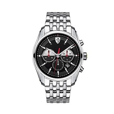 FERRARI 速度時尚計時三眼腕錶/42mm/FA0830197