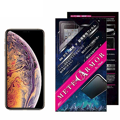 Moxbii Apple iPhone Xs Max 太空盾Plus 螢幕保護貼(非滿版)
