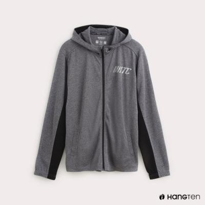 Hang Ten-ThermoContro-男裝色塊拼接機能連帽外套