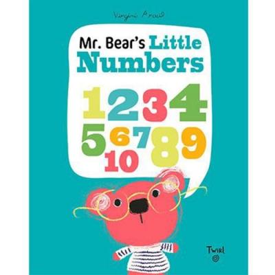 Mr. Bear s Little Numbers 小熊的數字學習書
