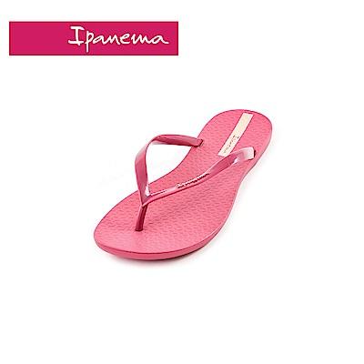 IPANEMA WAVE系列 森巴舞曲夾腳拖鞋(女款)-紫紅色