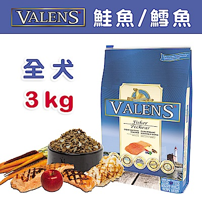 【VALENS威倫】全犬-冷凍乾燥原食配方-鮭魚/鱈魚 3kg