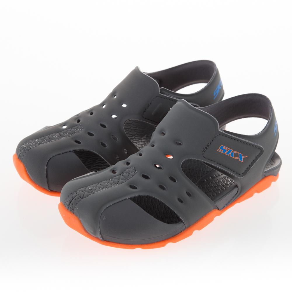 SKECHERS 男童 涼拖鞋系列SIDE WAVE - 92330LCCOR