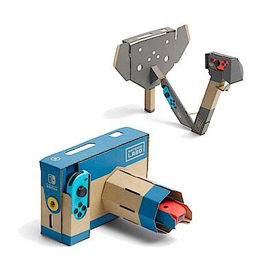 (預購) NS 任天堂實驗室 Toy-Con 04: 擴充組 照像機&大象 (不含遊戲)
