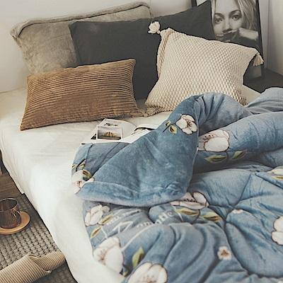 絲薇諾 MIT法蘭絨暖暖被-花香-145×195cm