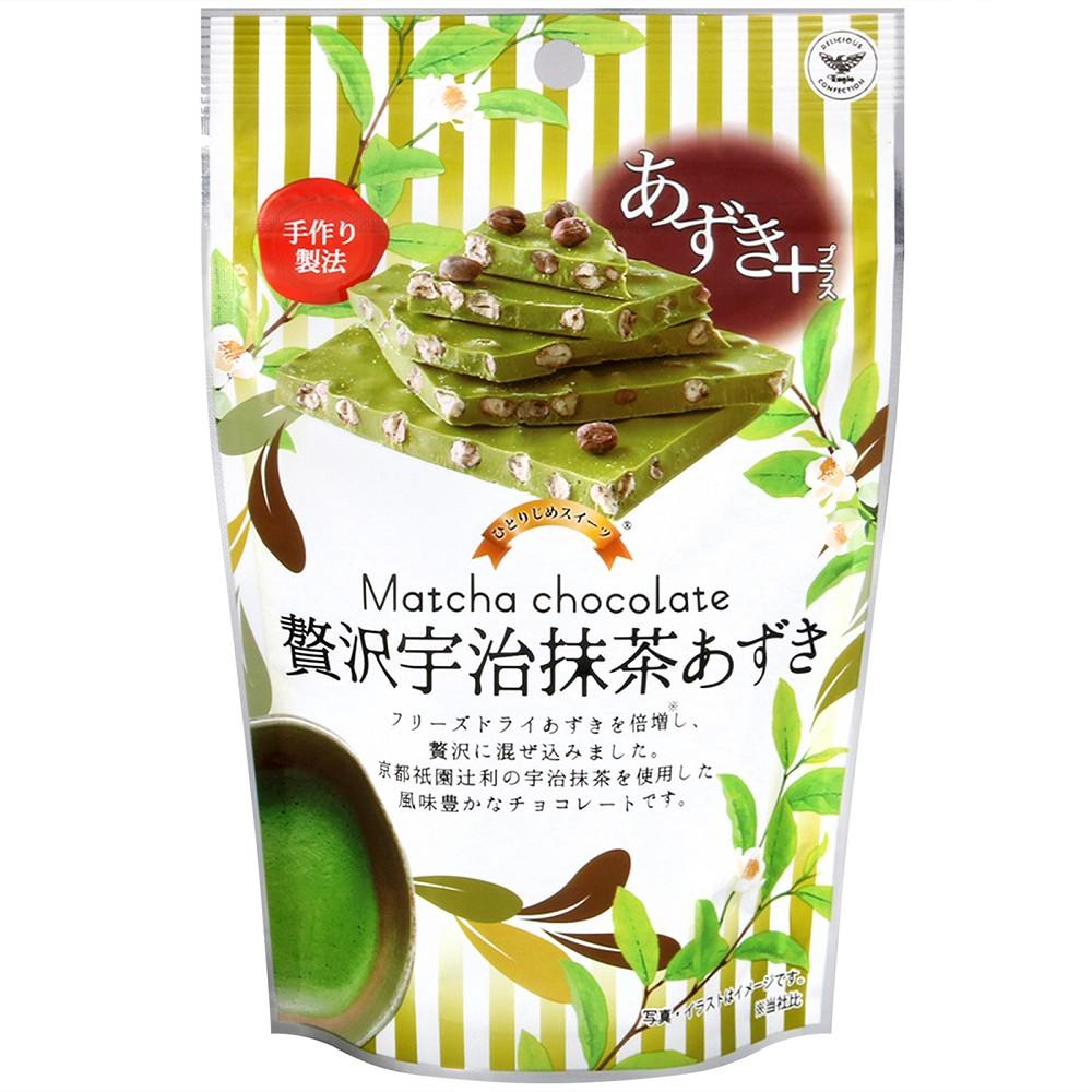 鷹牌 代可可脂巧克力-抹茶紅豆風味(72g) @ Y!購物