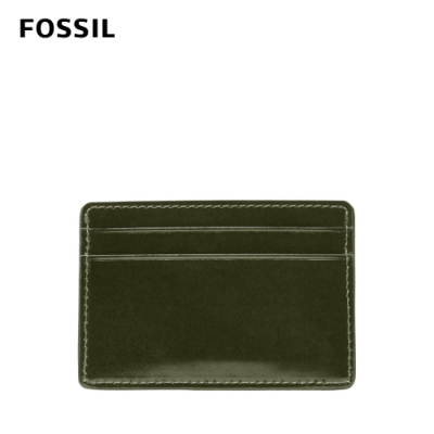 FOSSIL Benedict 亮皮質感卡夾-青藤墨色 ML4302302