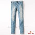 BRAPPERS 女款 新美腳Royal系列-彈性窄管褲-淺藍