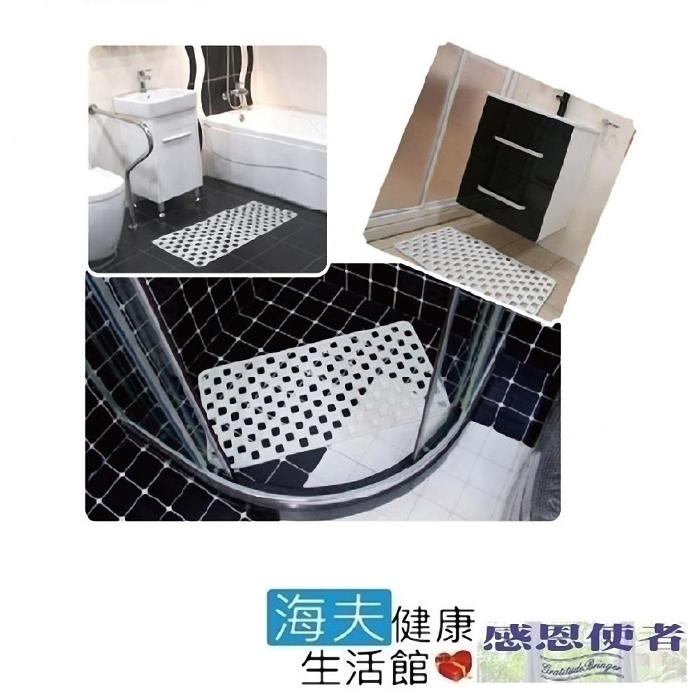 PVC止滑墊 格狀吸盤式 耐用型 地板返潮可用 (2入)