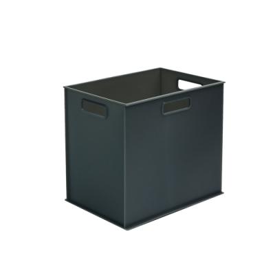 完美主義 附蓋塑膠收納盒-直2/1款3入組/收納箱/玩具收納(2色)
