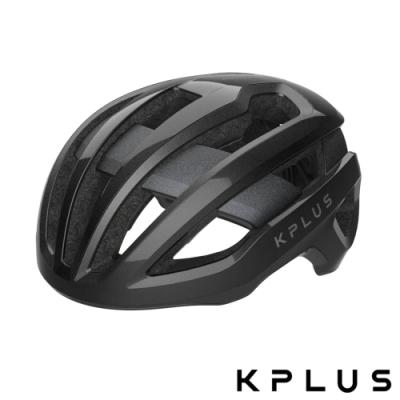 KPLUS 單車安全帽S系列公路競速360度全視角反光警示系統NOVA Helmet-黑