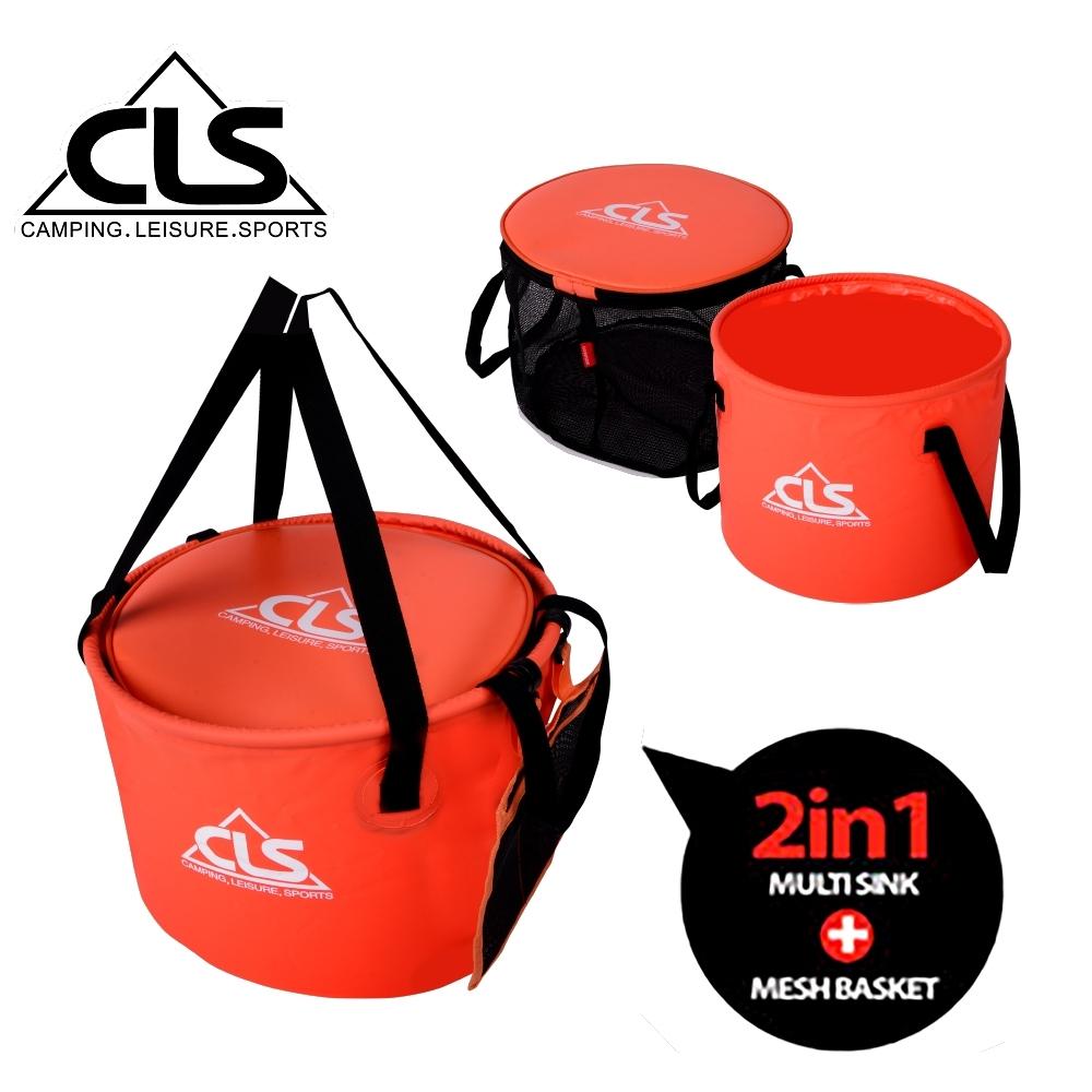 韓國CLS 30L多用途水桶+瀝水桶 超值組合