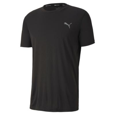 PUMA-男性慢跑系列Last Lap短袖T恤-黑色-歐規