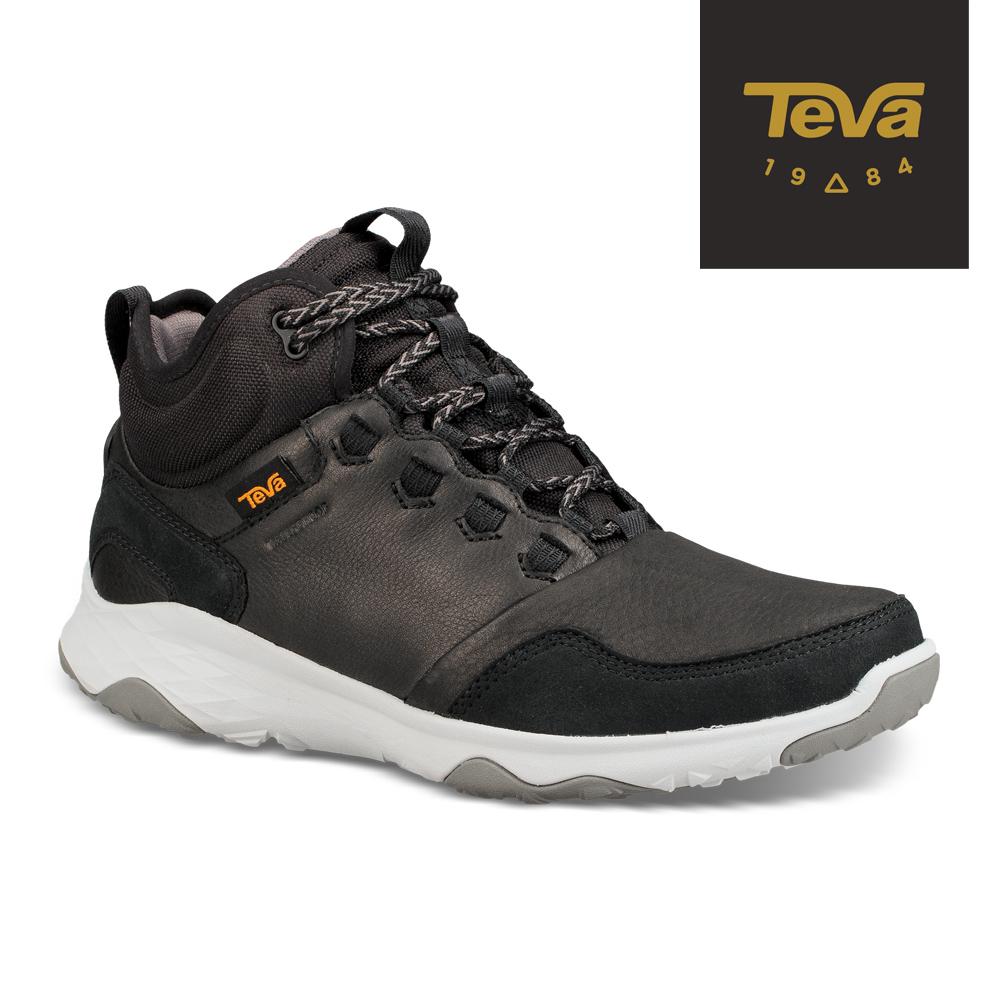 TEVA 美國-男 Arrowood 2 Mid WP 中筒防潑水休閒鞋 黑