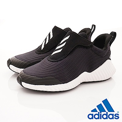 adidas童鞋 輕量運動鞋 HTW627黑(中大童段)