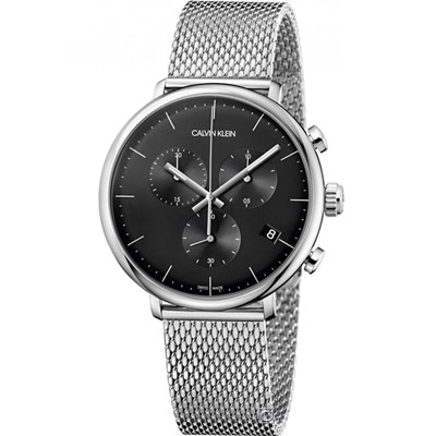 Calvin Klein 巔峰系列復刻計時腕錶(K8M27121)43mm