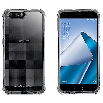 Metal-Slim ASUS ZenFone  4  ZE 554 KL 強化防摔抗震空壓手機殼