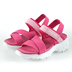 SKECHERS 女童 涼拖鞋系列 D LITES - 996335LHPK