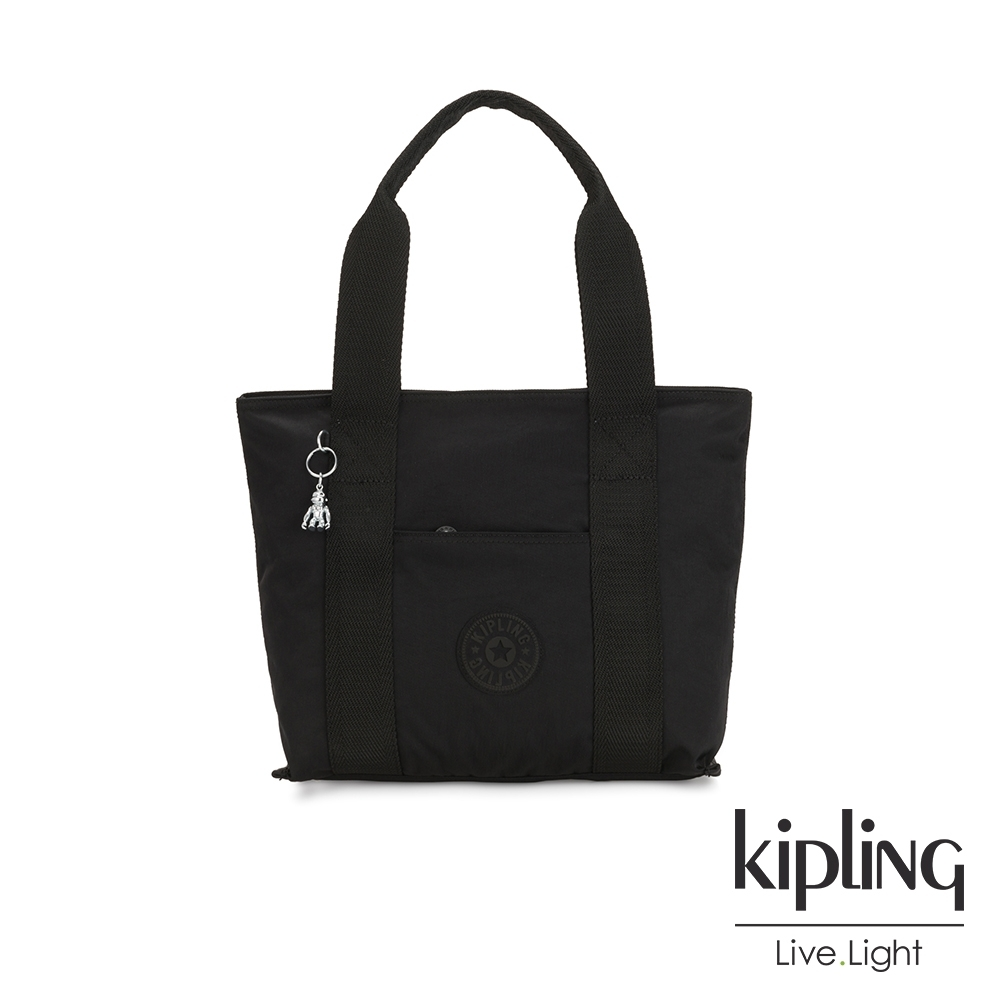 Kipling 極致低調黑手提包-ERA S