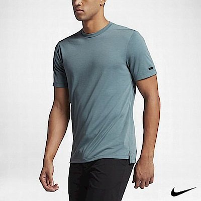 Nike Golf 短袖運動上衣 灰綠 815847-349