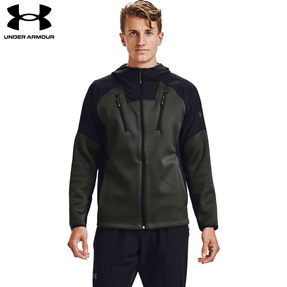【UNDER ARMOUR】男 Recover Swacket連帽外套