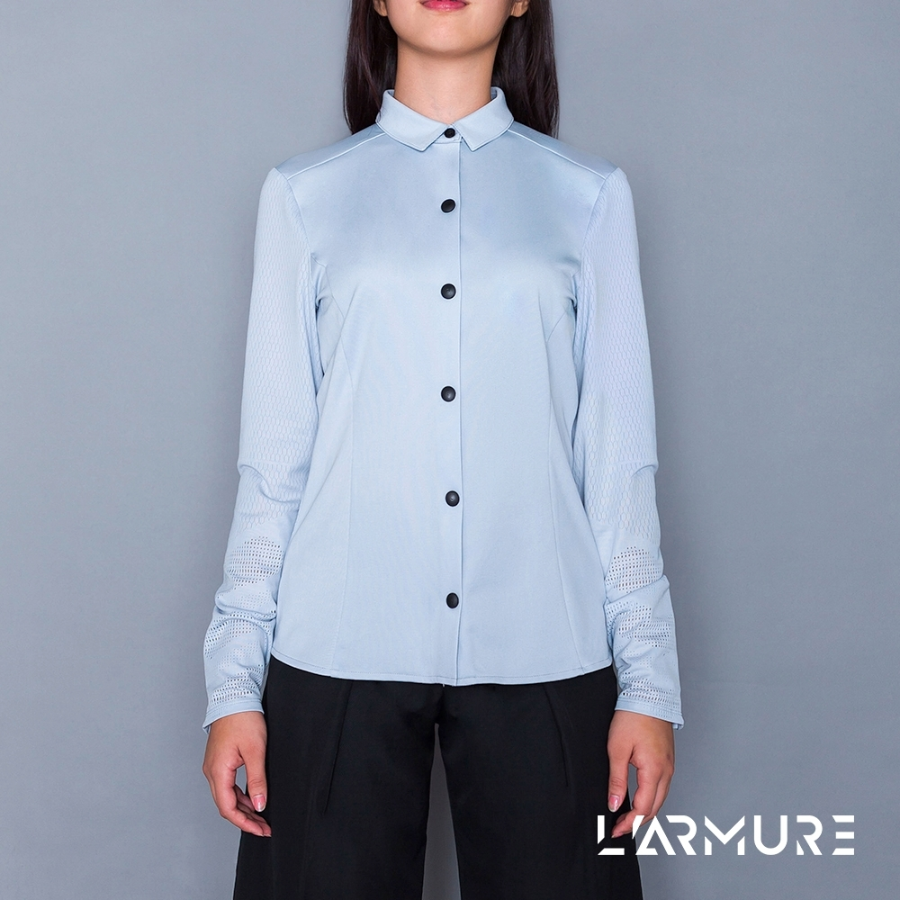 L'ARMURE 女裝 T-Mapping 網孔機能 女士襯衫 product image 1