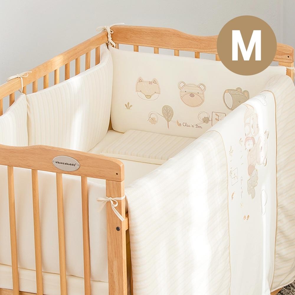 奇哥 有機棉五件式床組/寢具組-M