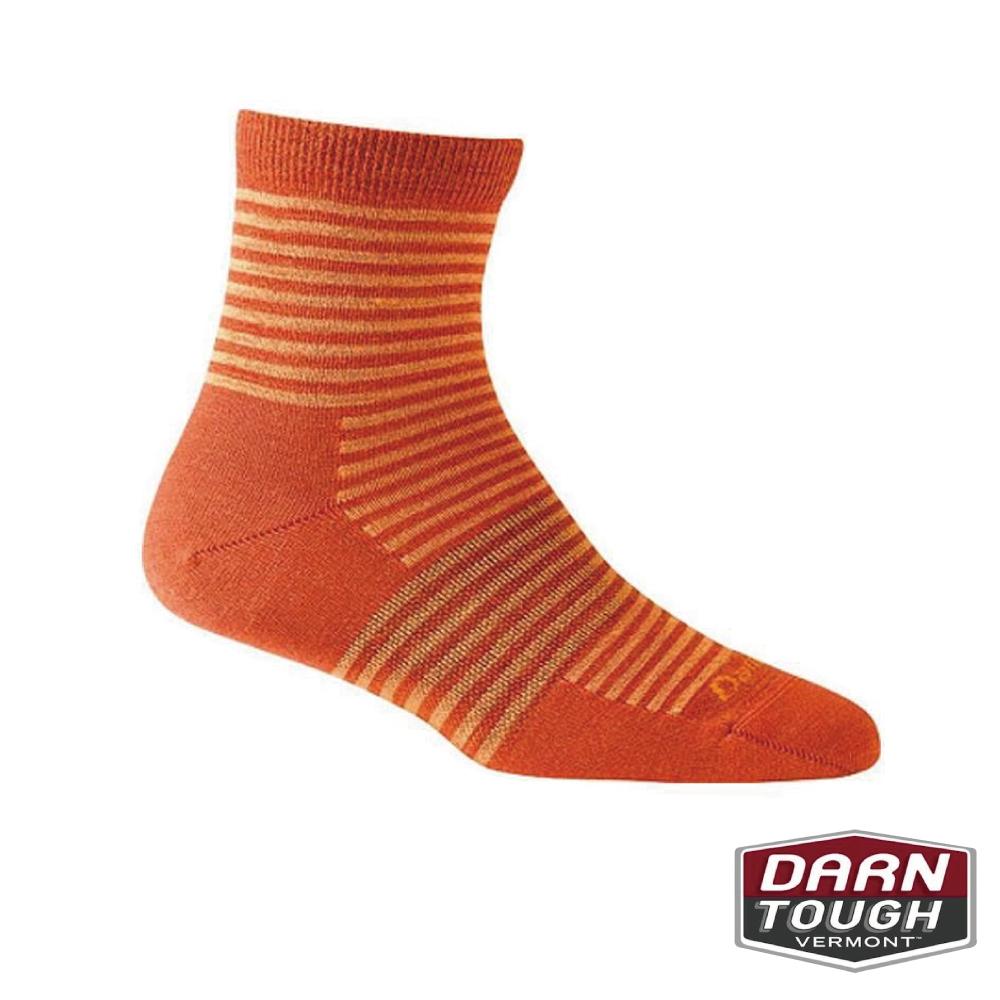 【美國DARN TOUGH】女羊毛襪MINI STRIPE 生活襪(2入隨機)