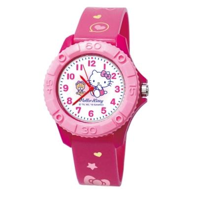 Sanrio三麗鷗雙色殼兒童手錶35mm Kitty與小熊