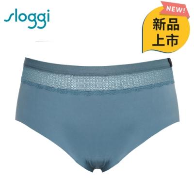 sloggi S by sloggi 簡約輕奢系列 Silhouette 平口內褲 M-L 礦石藍 87-1998 88
