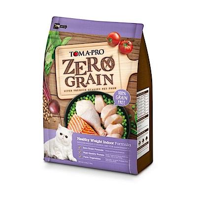 (買大送小)優格 天然零穀 室內貓 體重管理配方貓糧 14磅